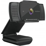 WebCam CONCEPTRONIC 2K Usb 3.6mm With mic (AMDIS02B)