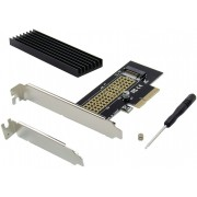 Controladora CONCEPTRONIC PCIe SSD M2 Disipador (EMRICK05BS)