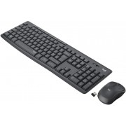 Kb+Mouse Logitech MK295 Wireless Grafito (920-009798)