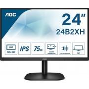 "Monitor AOC 24"" Full HD IPS Negro (24B2XH)"