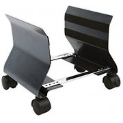Floor Stand CPU FELLOWES with wheels Graphite (9169201)