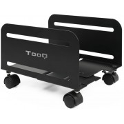 Floor Stand CPU TOOQ with wheels Black (UMCS0004-B)