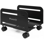 Floor Stand CPU TOOQ with wheels Black (UMCS0004-B)