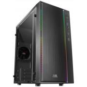 Case Mars Gaming mATX RGB USB2/3 S/F Black (MCM)