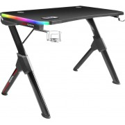 Table Mars Gaming 110x60cm Max. 100Kg RGB Black (MGDRGB)