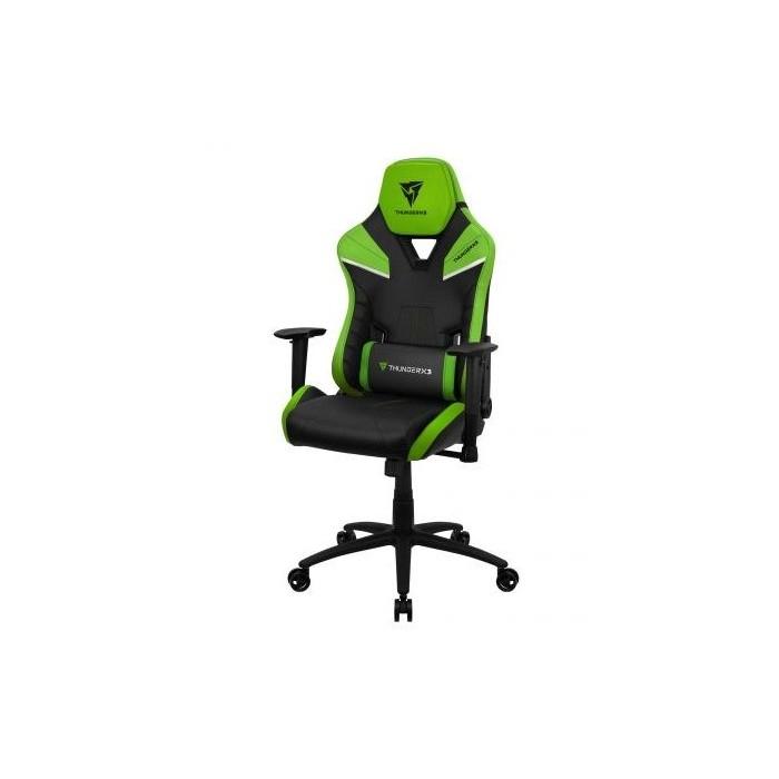 Gaming Chair Thunderx3 TC5 Negra y Green (TC5BG)