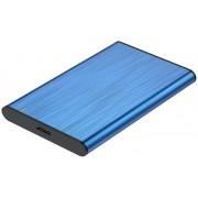 """HDD Enclosure AISENS 2.5"""" Sata a Usb3 Blue (ASE-2525BLU)"""
