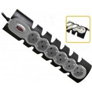 Power strip FELLOWES 6Tomas boton/Organiza Cables (9914401)