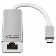 Nanocable Adaptador USB-C a Ethernet 15cm (10.03.0402)