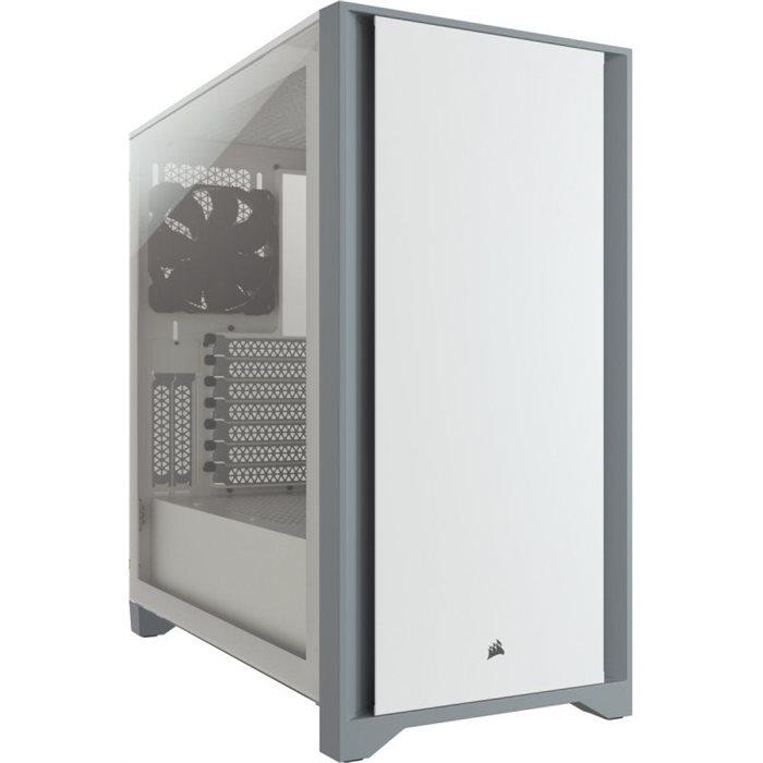 Case CORSAIR 4000D ATX White (CC-9011199-WW)