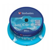 CD-R VERBATIM 52X 700Mb Spindle 25 (43352)