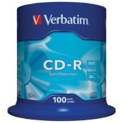 CD-R VERBATIM 52X 700Mb Spindle 100 (43411)