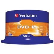 DVD-R VERBATIM 4.7Gb 16X Spindle 50 (43548)