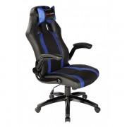 Silla TACENS Gaming Negro/Azul con brazos (MGC2BBL)
