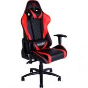 Silla ThunderX3 reclinable piel Negro/rojo (TGC15BR)