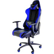 Silla ThunderX3 reclinable piel Negro/azul (TGC15BB)