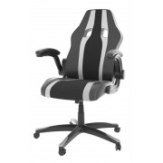 Chair Mars Gaming MGC2 Black/White con brazos (MGC2BW)