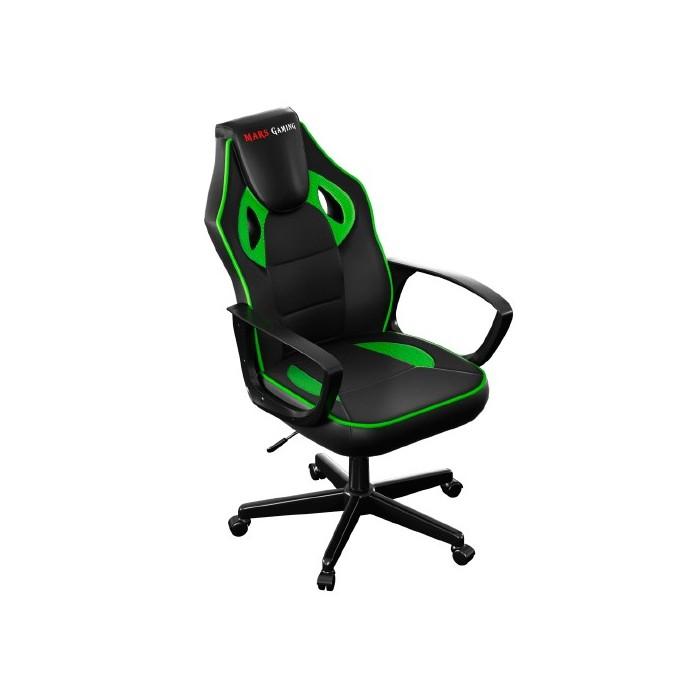 Silla Mars Gaming MGC0 Negro/Verde (MGC0BG)