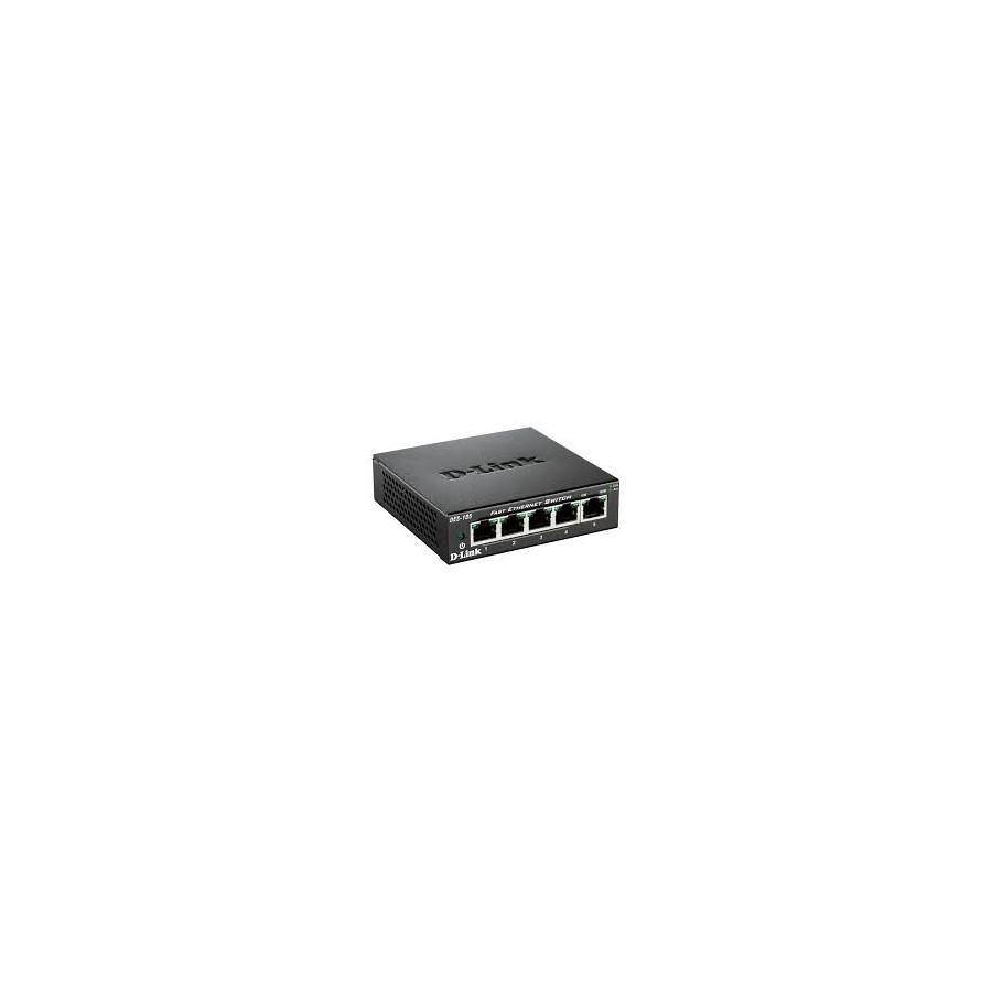 Switch D Link 5p 10 100 Metallic Des 105 Pc Media Informatica Smart Dgs 1210 E