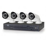 Kit Videovigilancia Conceptronic 4Cam Ext/Int+Grab (C4CHIPSKIT)