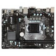 MSI H110M PRO-VH:(1151) 2xDDR4 VGA HDMI mATX