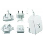 Fuente RASPBERRY Micro USB 5V 2.5A Blanco (9098126)