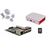 Kit RASPBERRY Pi 3 Mod.B/mSD 8Gb/Fuente/Blanco KIT-1012