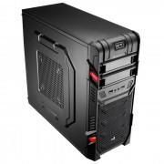 Case ATX AEROCOOL GT Advance USB3 Negro-Red s/F (GTADBK)