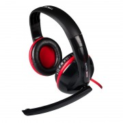 Headphones TACENS MARS MH0 +microfono abatible Red