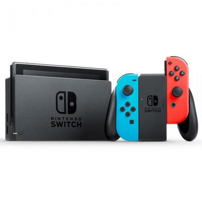 Consola Nintendo Switch Azul Neón-Rojo Neón