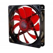 Fan Cooler NOX Coolfan 12cm Rojo (NXCFAN120LR)