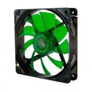 Ventilador NOX Coolfan 12cm Verde (NXCFAN120LG)