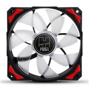 Fan Cooler NOX HFAN 12cm Rojo (NXHUMMERF120LR)