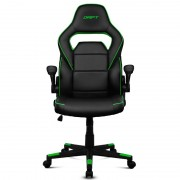 Chair Gaming Drift DR75 Negro/Verde (DR75BG)