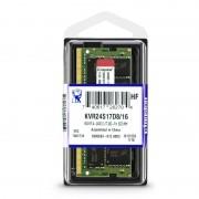 Modulo DDR4 2400MHz SODIMM 16Gb KVR24S17D8/16