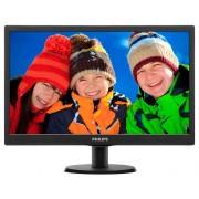 """Monitor PHILIPS 193V5LSB2 18.5"""" VGA Black (193V5LSB2)"""