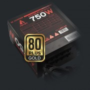 Fuente ABYSM Gaming Morpheo ATX 750W 80+ Gold (53001)