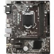 MSI H310M PRO-VDH:(1151) 2DDR4 HDMI DVI VGA 4USB 4SATA