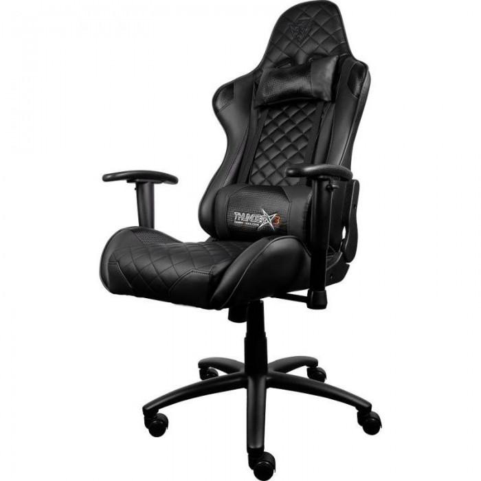 Chair ThunderX3 Reclinable Hidráulica Black (TGC12 B)