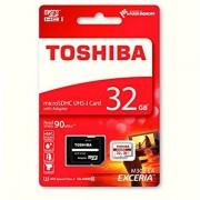 TOSHIBA MicroSDHC 32Gb C10 R90 Adapt. (THN-M302R0320EA)