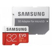 Micro SD SAMSUNG 32Gb+Adap.SD EVO C10 FHD (MC32GA/EU)