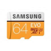 Micro SD SAMSUNG 64Gb+Adap.SD EVO C10 FHD (MP64GA/EU)