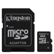 KINGSTON Micro SD 8Gb (SDC4/8GB)