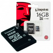 KINGSTON Micro SD 16Gb (SDC4/16GB)