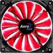 Fan Cooler AEROCOOL SHARK RED 14x14 Rodar dinamico