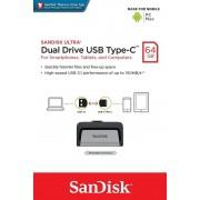 Pendrive SANDISK Dual USB/USB C 64Gb (SDDDC2-064G)
