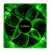 Ventilador 12x12 UNYKA Green Neon (51784)