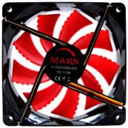 Fan Cooler TACENS Mars 12x12 Gaming Led Red (MF12)