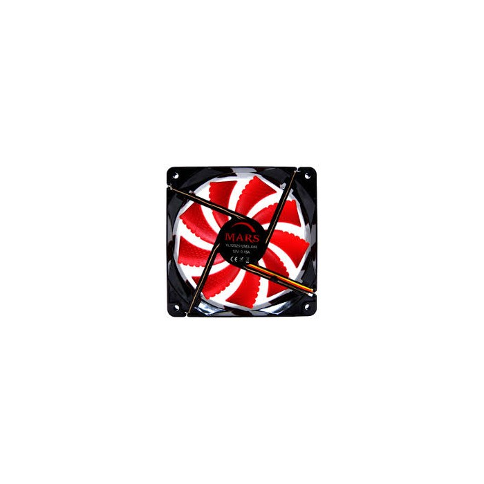 Ventilador TACENS Mars 12x12 Gaming Led Rojo (MF12)