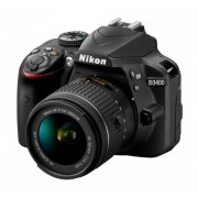 Kit Nikon D3400 AF-P 18-55mm 24.2Mpx FHD Estuche E-Book
